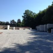 Négoce La Gravière à Lamastre (07) cases faite en BigBloc